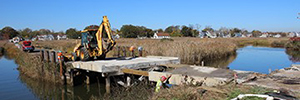 T&M Associates Construction Administration; Replacement of Bridge MT-4 on Broadway Over Compton's Creek, Middletown, NJ.